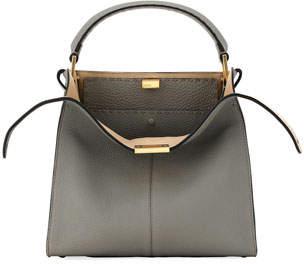 Fendi Peekaboo Rome X-Lite Calf Top-Handle Bag
