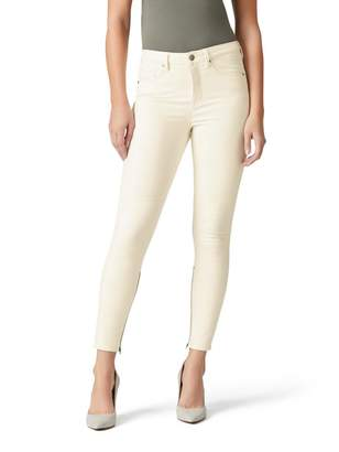 Jeanswest Lyra High Waisted Skinny 7/8 Jean-Winter White-6