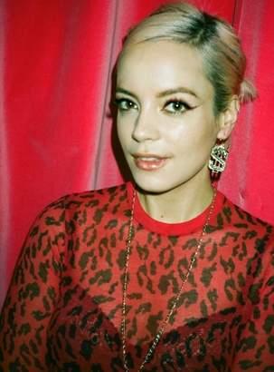 Aries Red & Black Cheetah Underwear Top