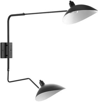 Modway View Double Fixture Wall Lamp