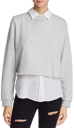 Rails Edson Layered-Look Sweatshirt