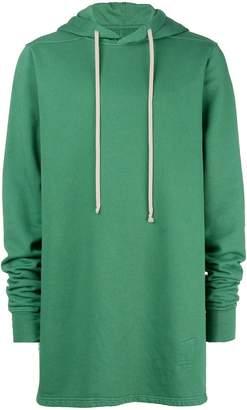 Rick Owens longline hoodie