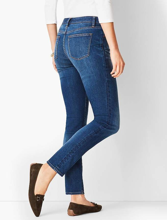 Premium Slim Ankle Jean - Knight Wash