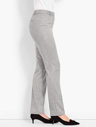 Talbots High-Waist Straight-Leg-Chambray