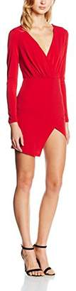Glamorous Women's Wrap Front Dress,(Manufacturer Size:S)