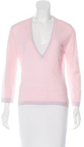VersaceVersace Cashmere V-Neck Sweater
