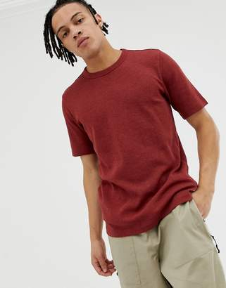 Weekday Grinko t-shirt in red