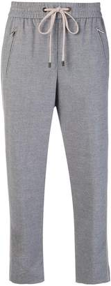 Peserico cropped track trousers