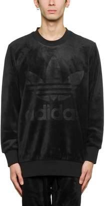 adidas Velour Sweatshirt