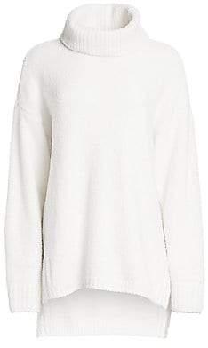 ATM Anthony Thomas Melillo Women's Chenille Oversized Turtleneck Sweater