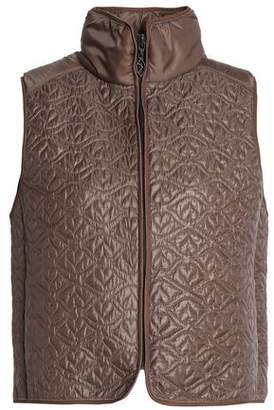 See by Chloe Paneled Quilted Shell Vest