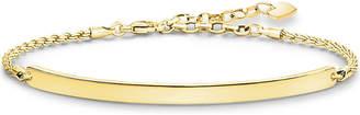 Thomas Sabo Love Bridge 18ct yellow gold-plated bracelet