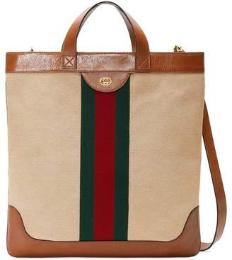 8a6ede524df Gucci Canvas Bag Men - ShopStyle