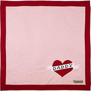 """Amber Hagen Daddy"""" Cotton-Cashmere Baby Blanket - Pink"""