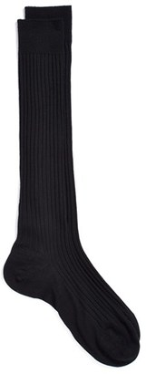 Men's Pantherella Merino Wool Blend Over-The-Knee Socks $30 thestylecure.com