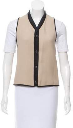 Marni Wool-Blend High-Low Vest