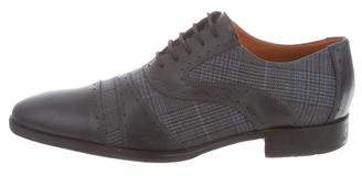 Etro Leather Derby Shoes