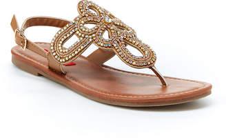 UNIONBAY Womens Richmond Ankle Strap Flat Sandals