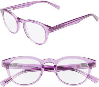 Eyebobs Clearly 47mm Round Reading Glasses
