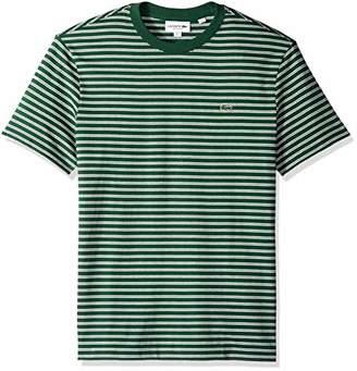 Lacoste Men's Short Sleeve REG FIT Striped Jersey TEE