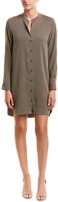 BCBGeneration Open-Sleeve Shirtdress