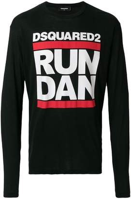 DSQUARED2 Run Dan print T-shirt
