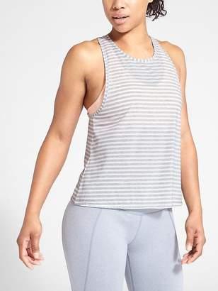 Athleta Stripe Essence Low Tank
