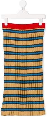 Marni long knitted skirt