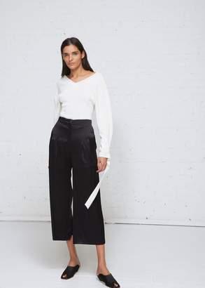 Low Classic Basic Silk Pant