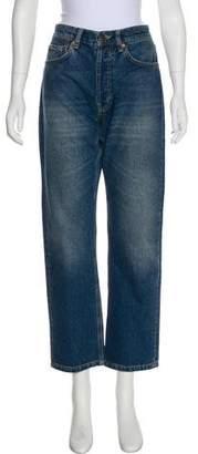 Raey Mid-Rise Straight-Leg Jeans