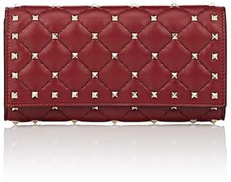 Valentino Women's Rockstud Spike Leather Continental Wallet