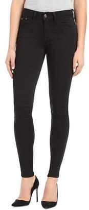 Mavi Jeans Adriana Side-Stripe Ankle Skinny Jeans in Black