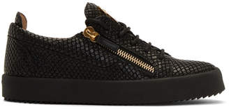 Giuseppe Zanotti Black Snake May London Sneakers