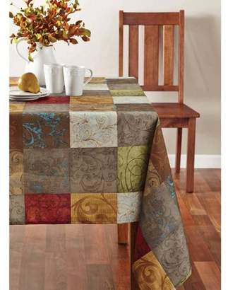 """Mainstays Tuscany Fabric Tablecloth, 60"""" x 102"""""""