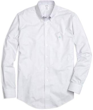 Brooks Brothers Non-Iron Regent Fit Track Stripe Sport Shirt