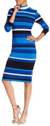 Catherine Malandrino Long Sleeve Sweater Dress