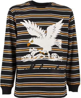 MHI T-shirt Maha Eagle L/s Striped