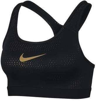 Nike (ナイキ) - ナイキ ナイキ/レディス/ナイキ ウィメンズ クラシック メタリック ドット ブラ
