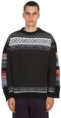 Y/Project Layered Wool Blend Knit Sweater