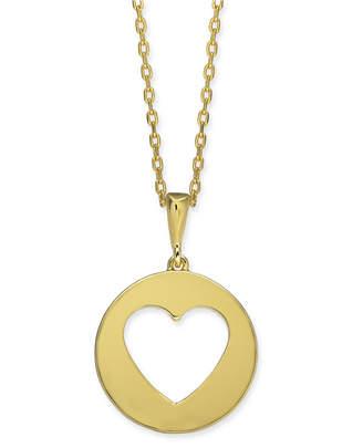 "Kate Spade Gold-Tone Heart 16"" Mini Pendant Necklace"