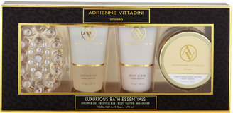 Adrienne Vittadini Luxurious Essentials Bath Set $16 thestylecure.com