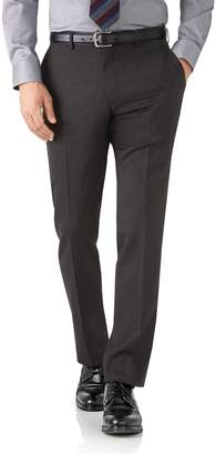 Charles Tyrwhitt Charcoal Slim Fit Performance Suit Wool Stretch Pants Size W38 L34