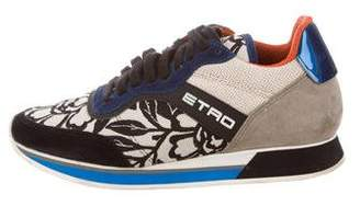 Etro Jacquard Low-Top Sneakers