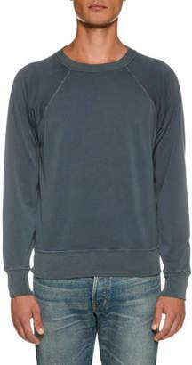 Tom Ford Men's Vintage Garment Dyed Loop Back Sweater