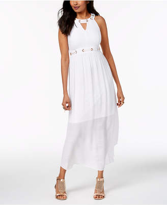 Thalia Sodi Embellished Maxi Dress