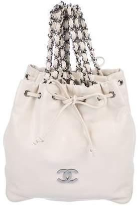 Chanel Drawstring Double Bag
