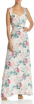 Parker Mimi Floral-Silk Maxi Dress