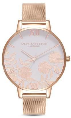 Olivia Burton Lace Watch, 38mm