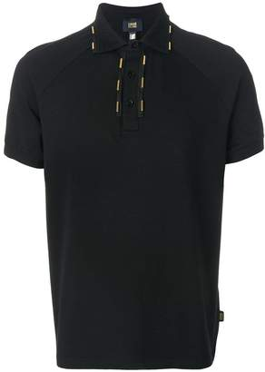 Class Roberto Cavalli embellished collar polo shirt