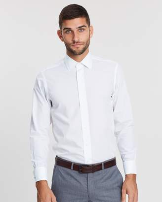Brooks Brothers Milano Slim-Fit French Cuff Dress Shirt